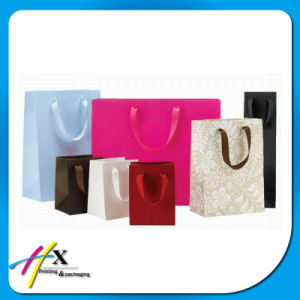 Promotional Brown Kraft Paper Shopping Carrier Bags pictures & photos