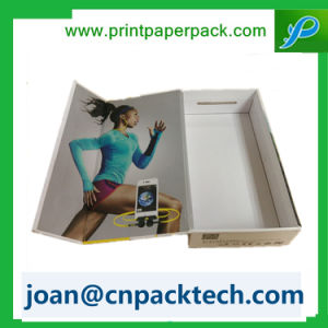 Clear Lid Display Cardboard Gourment Paper Box pictures & photos