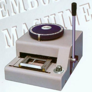 Innovo PVC Manual Embossing Machine pictures & photos