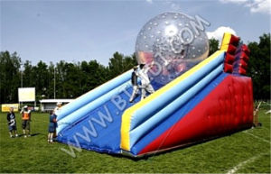 Customized Inflatable Water Zorbing Ramp B6079 pictures & photos
