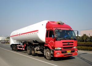 21m3 LNG Cryogenic Liquid Lorry Tanker pictures & photos