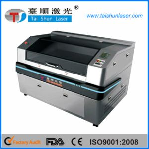 CCD Camera Positioning Printing Sticker Laser Engraving Machine pictures & photos