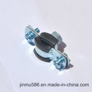 "Pipe Clamp with Rubber (1/4"") pictures & photos"
