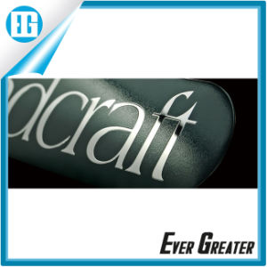 Customized Nickel Sticker Electroforming with Custom Logo pictures & photos