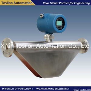 China Coriolis Mass Liquid / Gas Flow Meter for Propane pictures & photos