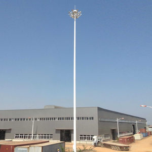 20m, 25m, 30m, 40m Lowering Device High Mast Pole pictures & photos