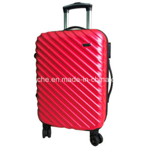 ABS Material Aluminum Trolley Luggage Case