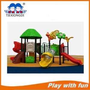 Preschool Plastic Outdoor Playground Equipment for Sale pictures & photos