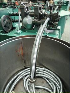 Metal Flexible Electrical Cable Protection Tubing Machine pictures & photos