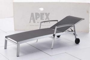 Pool Sling Lounger Outdoor Furniture Textile Lounger Sunbed pictures & photos