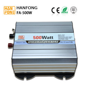 Home Solar System Power Inverter DC/AC 500W off-Grid Single Phase pictures & photos