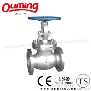 ANSI Stainless Steel Flanged Globe Valve pictures & photos