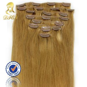 Without Chemical Process Virgin Clip in Hair Extension