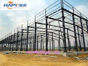 Steel Building in Poultry House with Whole Equipment for Broiler Layer and Breeder pictures & photos