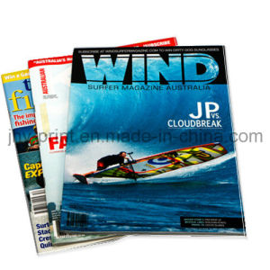Saddle Stitch Customerized Full Color Promotional Magazine Printing (jhy-375) pictures & photos
