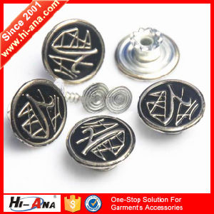 Many Self-Owned Brands Various Colors Brass Button pictures & photos