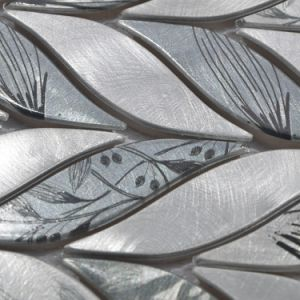 2017 New! Popular Leaf Metal Mosaic pictures & photos