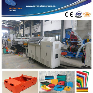 PC PE PP Hollow Sheet Making Machine pictures & photos