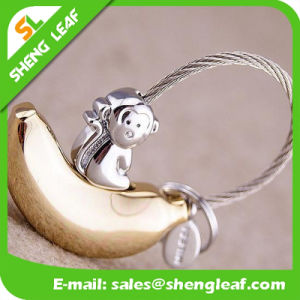 Promotion Custom Logo Metal Souvenir Gift Keychain (SLF-MK005) pictures & photos