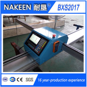 Small CNC Plasma/Flame Steel Cutting Machine From Nakeen pictures & photos