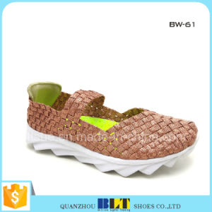 Fashion Woven Flats Shoes pictures & photos