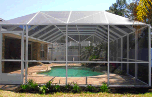18*14 Pool and Patio Screening/ Fiberglass with PVC Coated Made in China pictures & photos