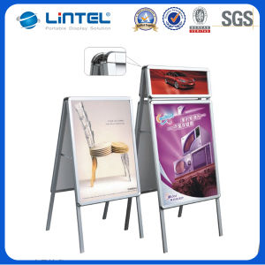 Free Standing Aluminum Poster Board Outdoor Sign (LT-10) pictures & photos