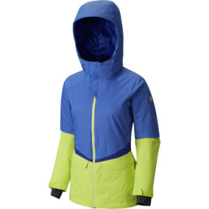 Womens Colourful Slim Fully Taped Padded Ski Jacket pictures & photos