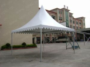 Aluminum Frame Pagoda Tent with Flame pictures & photos