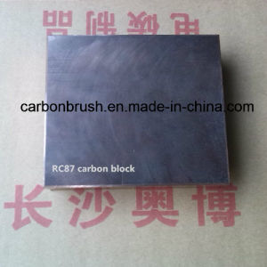 Copper Carbon Brush RC87 Carbon Block Manufacturer pictures & photos