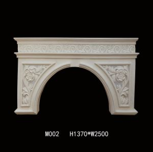 Sandstone Sculpture Resin Carved Fireplace pictures & photos