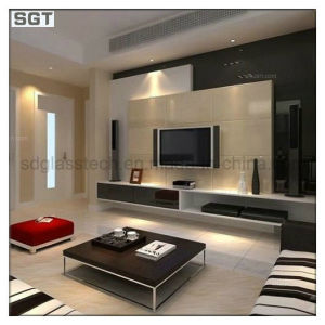 Lacquered/Painted Glass for Background Wall pictures & photos