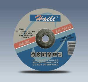 """9"""" (230-6-22.2) Grinding Wheel for Metal"""