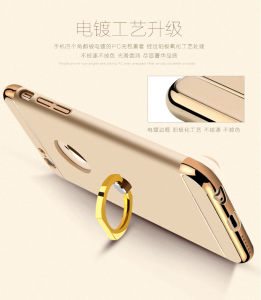 Ring Buckle Foothold Plating Phone Cover for iPhone 6/6s pictures & photos