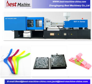 Adult Clothes Plastic Hanger Injection Moulding Making Machine pictures & photos
