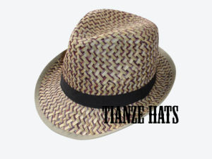 Two Tone Rush Straw Hat pictures & photos