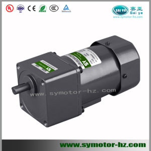 60W 90mm AC Reversible Gear Motor pictures & photos