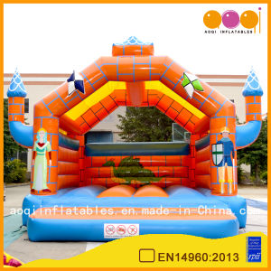 Super Attractive Inflatable Bouncy Castle with Princess Printing (AQ519) pictures & photos