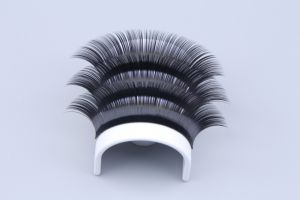 Wholesale Product Silk Eyelashes 3D Eye Flat Lash Extensions Private Label Mega Volume Fan Mink 0.07mm Trays pictures & photos