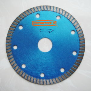 Dry Cutting Continuous Rim Diamond Saw Blades for Masonry pictures & photos