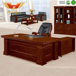 Hot Sale Office Teak Wooden Executive Desk pictures & photos