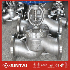 Industrial Flange or Bw Ends Forged Stainless Steel Globe Valve