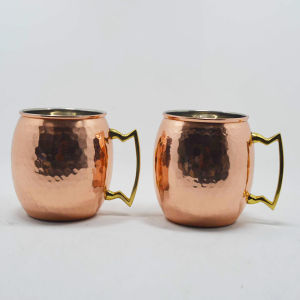 Stainless Steel Copper Mug pictures & photos
