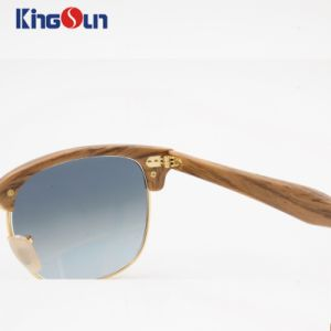Professional Hand Made Sunglasses with Glass Gradural Lens (KS1146) pictures & photos