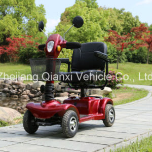 4 Wheel Electric Mobility Elderly E-Scooter (ST098) pictures & photos