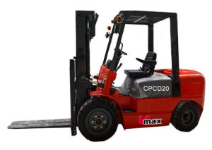 2 Ton Loading Capacity Electric Forklift with Ce pictures & photos