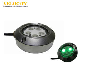 12W Stainless Steel IP68 RGB Underwater LED Light for Boat with Controller pictures & photos