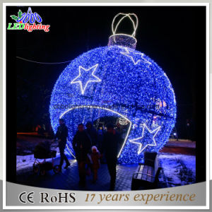 Big LED Outdoor Christmas Ball Lights Holiday Light Garden Decoration Light pictures & photos