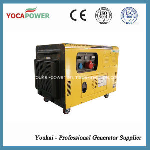 Three Phase Water Cooled 10kw Portable Silent Generator pictures & photos