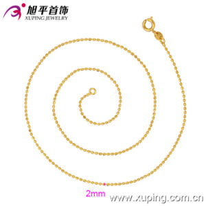 Xuping Fashion 24k Gold Color Necklace (42506) pictures & photos